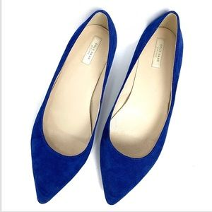 Cole Haan suede pointed toe flats. Size 10B